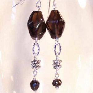 Smoke Stack Earrings Project Idea