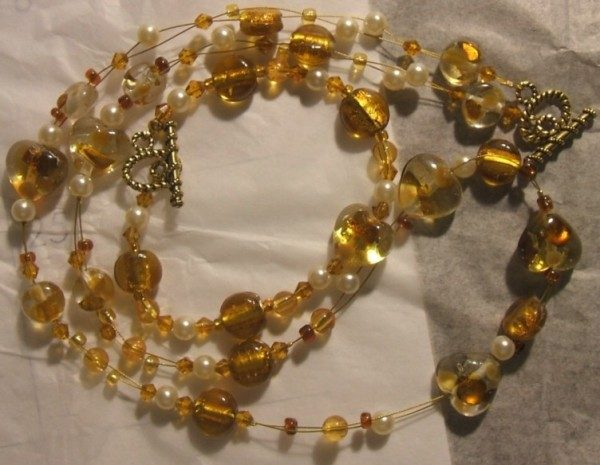 Heart Of Gold Necklace and Bracelet Project