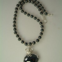 Hematite Necklace Project