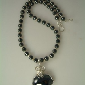 Hematite Necklace Project Idea