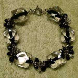 Black & Silver Charrm Bracelet Project Idea