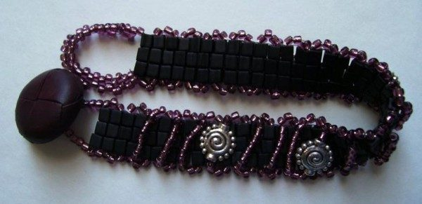 Amethyst Embelished Bracelet Project
