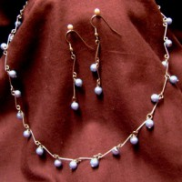 Handmade Chain With Pearls Project