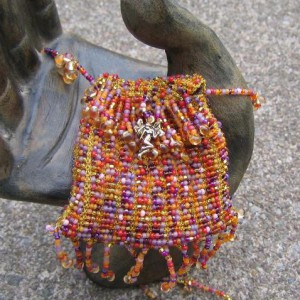 Harvest Surprise Beaded Purse Project Idea