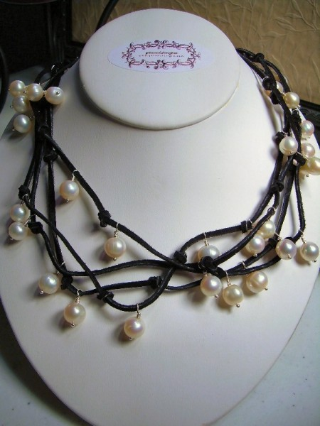 Not Your Mothers Pearl Necklace Project