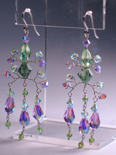 Crystal Shiva Earrings Project