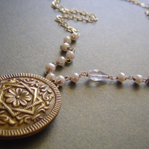 Vintage Locket Necklace Project Idea