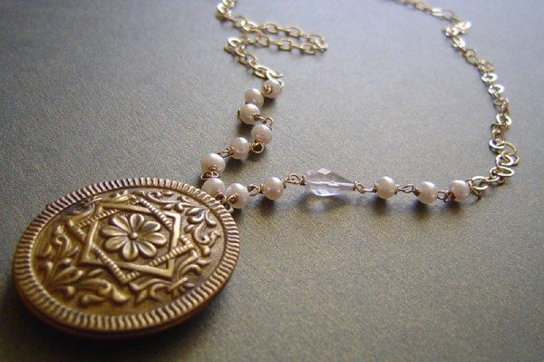 Vintage Locket Necklace Project