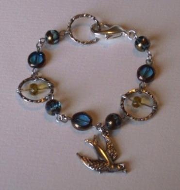Swallow Charm Bracelet Project