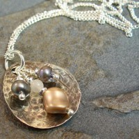 Pearl & Sterling Treasure Necklace Project