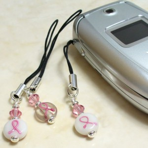 Jane's Hope Breast Cancer Awareness Cellphone Charm Jewelry Idea