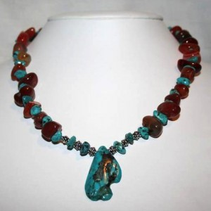 Carnelian And Turquoise Necklace Project Idea