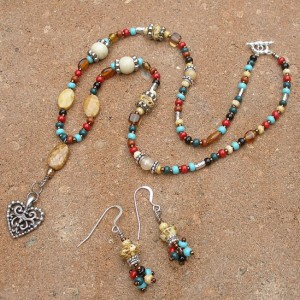 Navajo Mix Set Jewelry Idea
