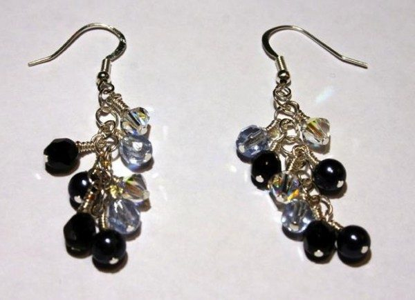 Wire Wrapped Crystal Drop Earrings Project