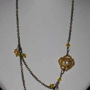 Sun Goddess Necklace Jewelry Idea