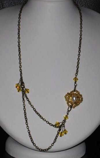 Sun Goddess Necklace Project