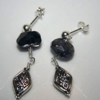 Wire-Wrapped Iolite Earrings Project