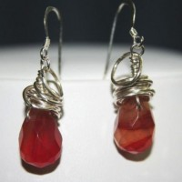 Wire Wrapped Agate Earrings Project