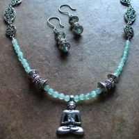 Buddha Necklace & Earrings Project