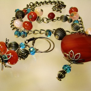 Fall Colors Necklace Project Idea