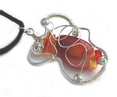 Agate Wire Pendant Project