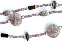 Three-strand Purple Bracelet with Charms Project