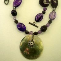 Romantic Amethyst Beaded Necklace Project
