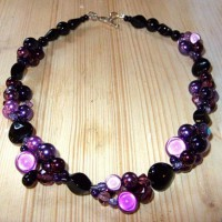 Purple Moon Necklace Project
