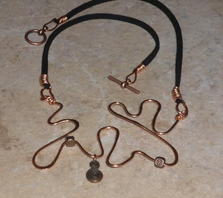 Splatter Wirework Necklace Project