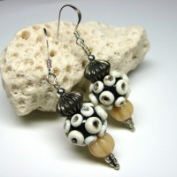 Ivory Pod Earrings Project