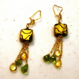 Dancing Raindrops Earrings Jewelry Idea