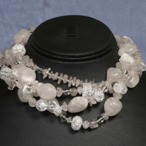 Ice Princess Quartz Necklace Jewelry Idea