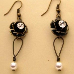 Victorian Rose Earrings Jewelry Idea