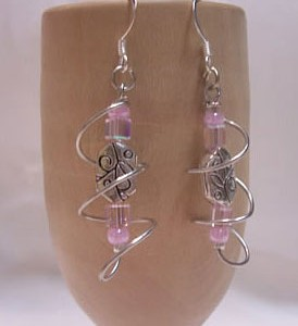 Swirl Earrings Project