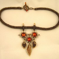 Zoe Beaded Necklace