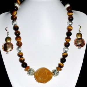 Pretty In Yellow Tiger Eye Necklace Project