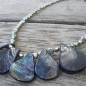 Freshwater And Mother Of Pearl Necklace Project