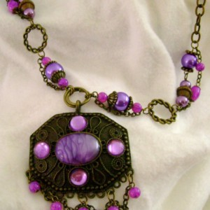 Purple Passions Necklace Jewelry Idea