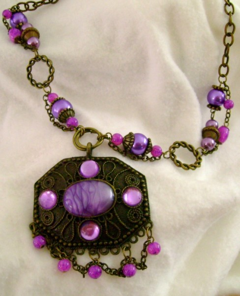 Purple Passions Necklace Project