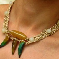 Macrame And Gemstone Necklace Project
