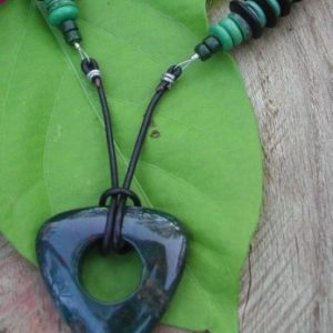 Exotic Beauty Bloodstone Necklace Project Idea