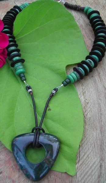 Exotic Beauty Bloodstone Necklace Project