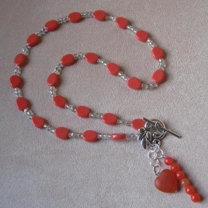 Coral Charms Necklace Project Idea