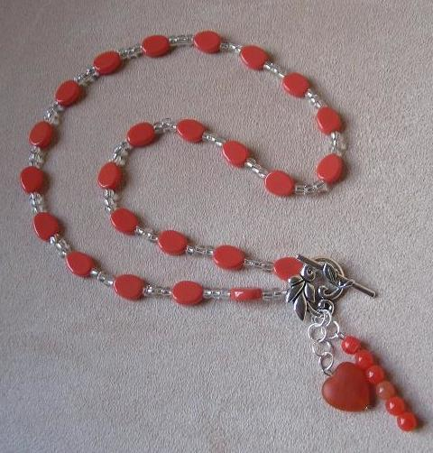 Coral Charms Necklace Project