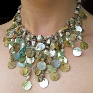 Falling Water Shell Necklace Project Idea