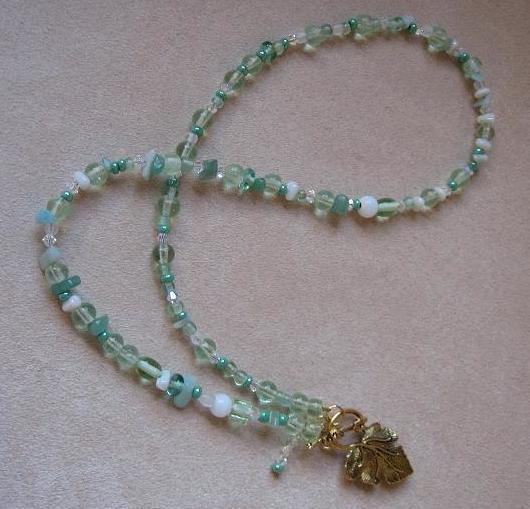 Mountain Mist Necklace Project
