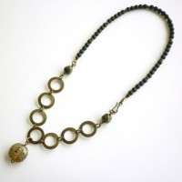 Brass Circles Necklace Project