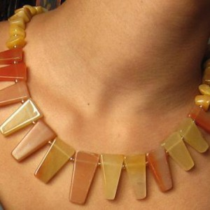 Aventurine Cleopatra Necklace Project