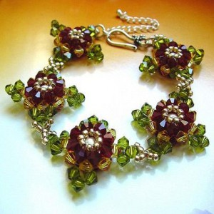 Natacha Swarovski Crystal Bracelet Project Idea