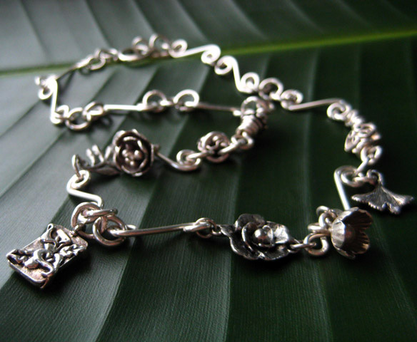 Silver Garden Necklace Project